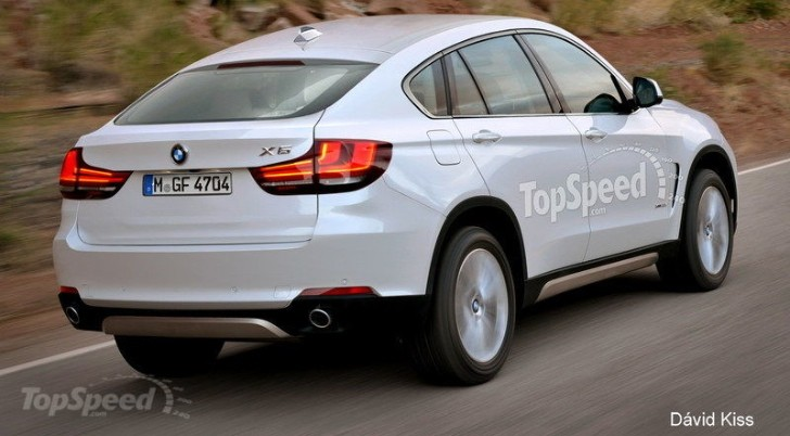 2015 BMW X6 Gets Creative New Rendering
