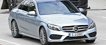 2015 C-Class W205 First Technical Details Leaked [Photo Gallery]