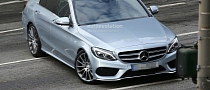 2015 C-Class W205 First Technology Details Leaked [Photo Gallery]