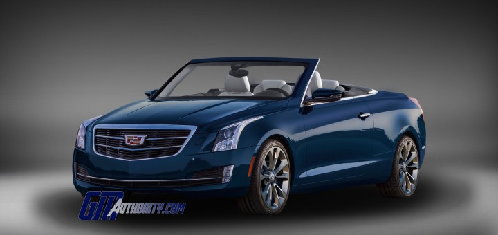2015 Cadillac ATS Gets New Convertible Renderings