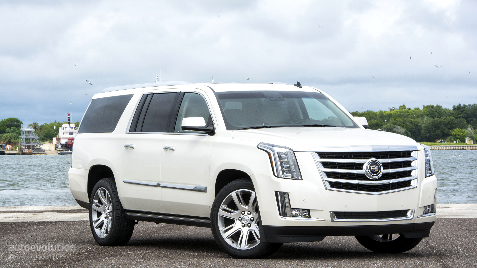 2017 Cadillac Escalade Hd Wallpapers When Luxury Meets Full Size Suv Capability