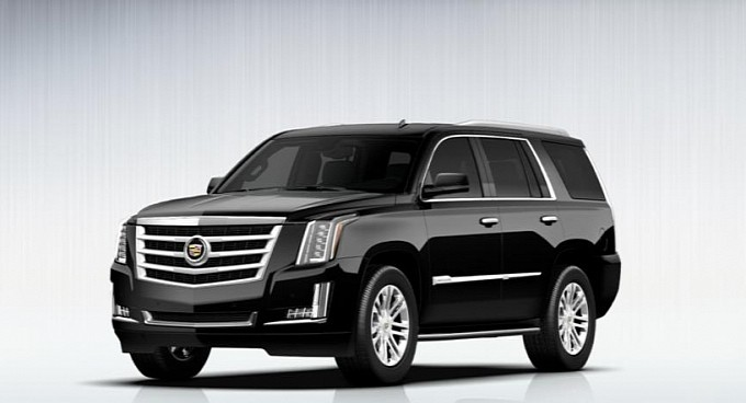 Escalade car - Color: Black  // Description: big powerful