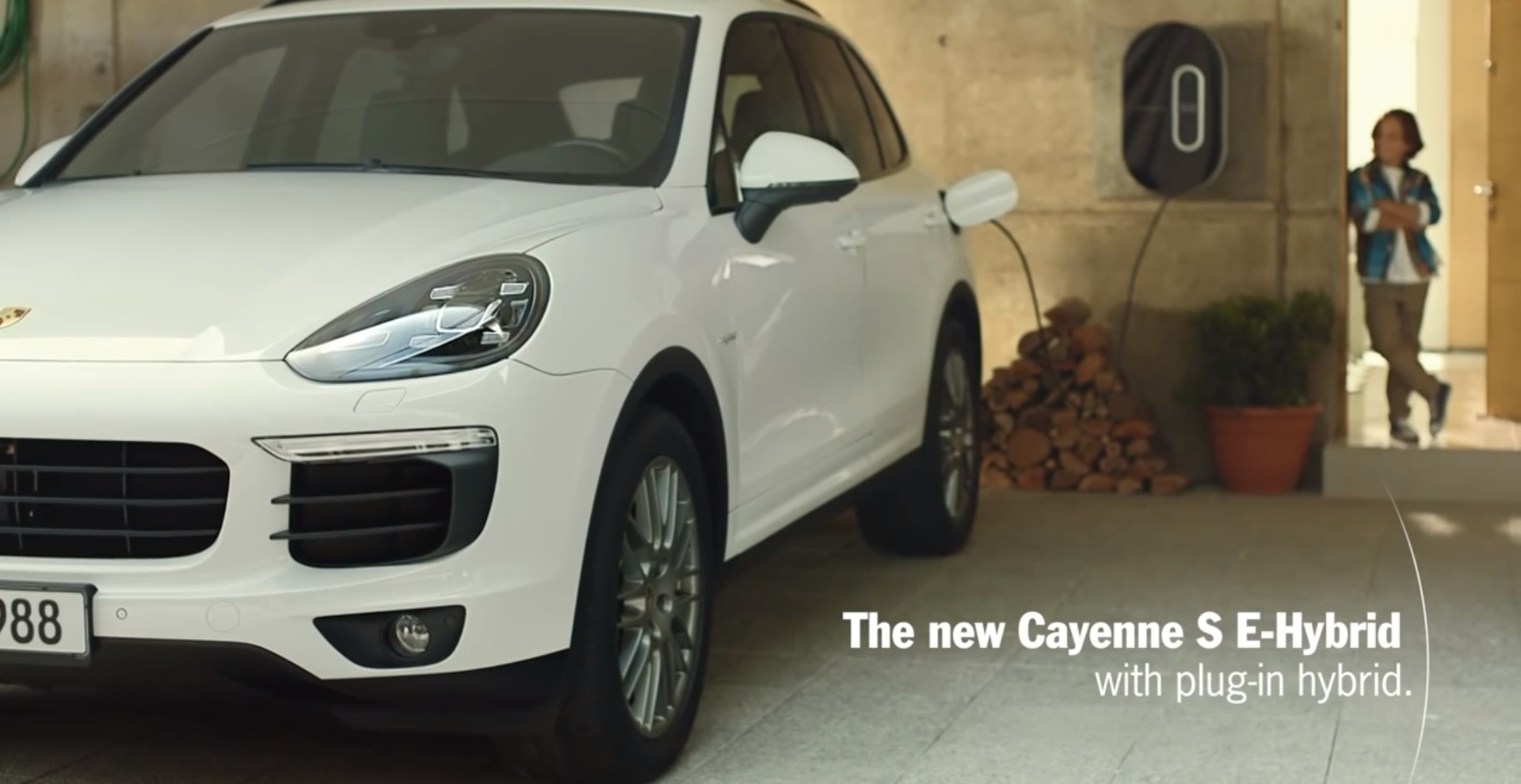 2017 Cayenne S E Hybrid Commercial Refueling Is Child Play