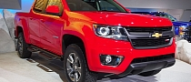 2015 Chevrolet Colorado Shows Up in Los Angeles [Live Photos]