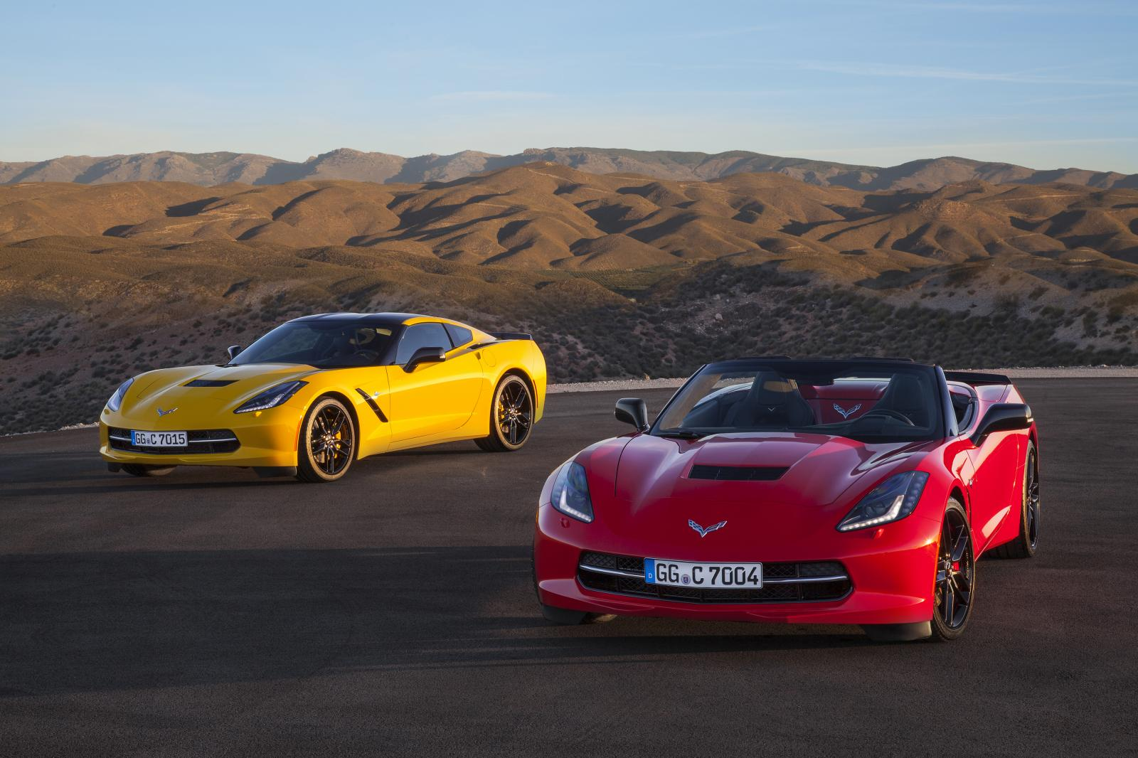 2015 chevrolet corvette european pricing starts at €74,500