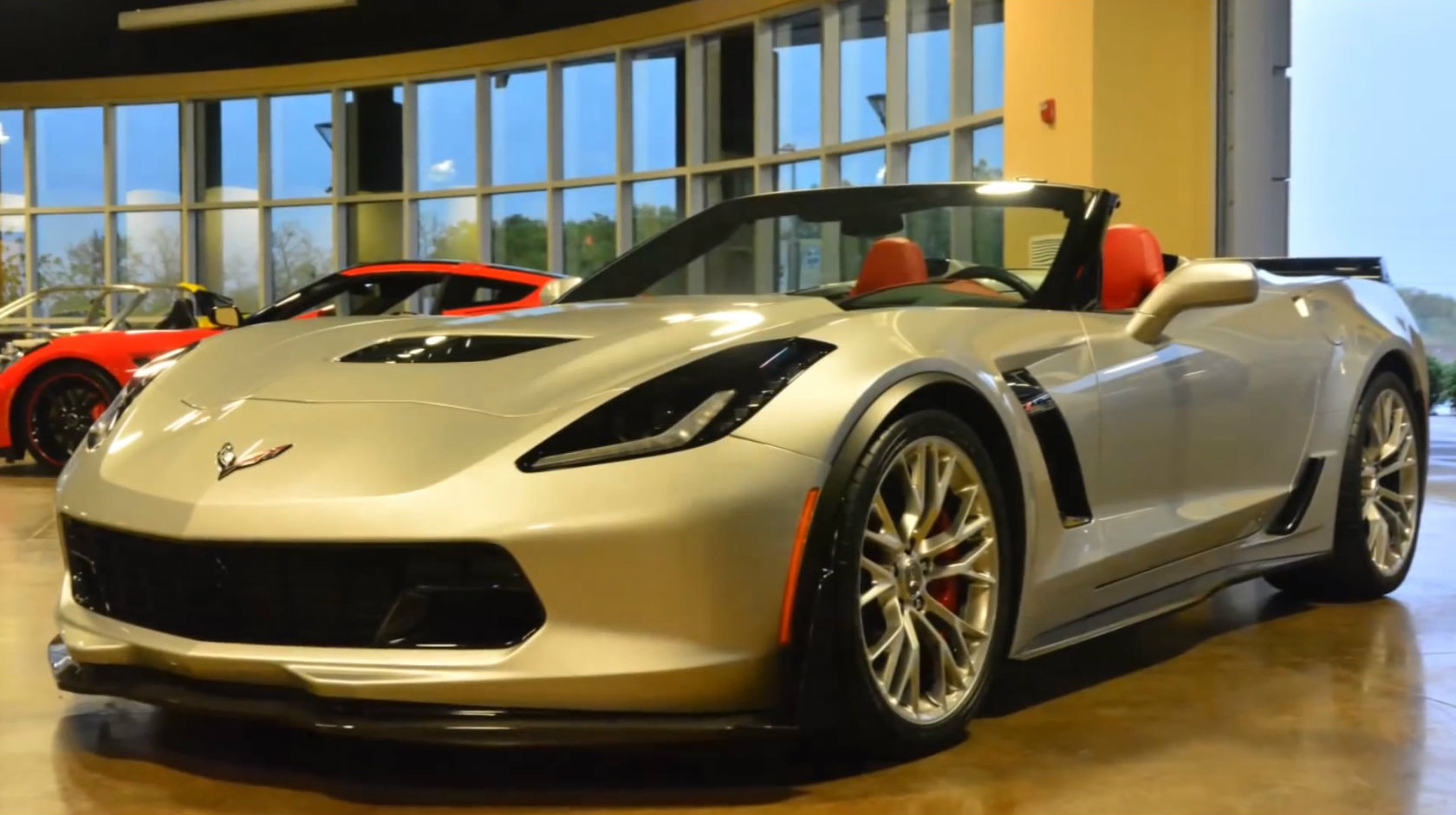 2015 chevrolet corvette z06 convertible startup exhaust sound