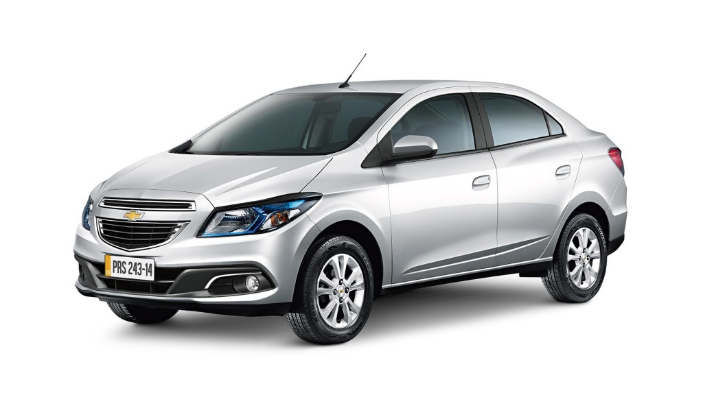 2015 Chevrolet Prisma Launched In Brazil