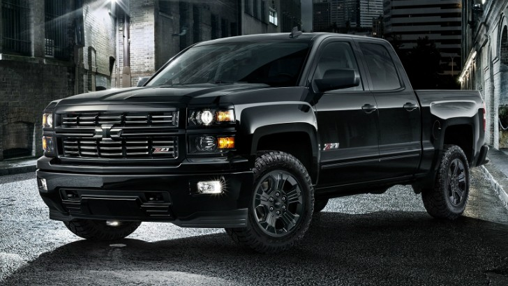 2014 Chevrolet Silverado Double Cab >> 2015 Chevrolet Silverado Midnight Edition Package Priced from $1,595 to $1,995 - autoevolution