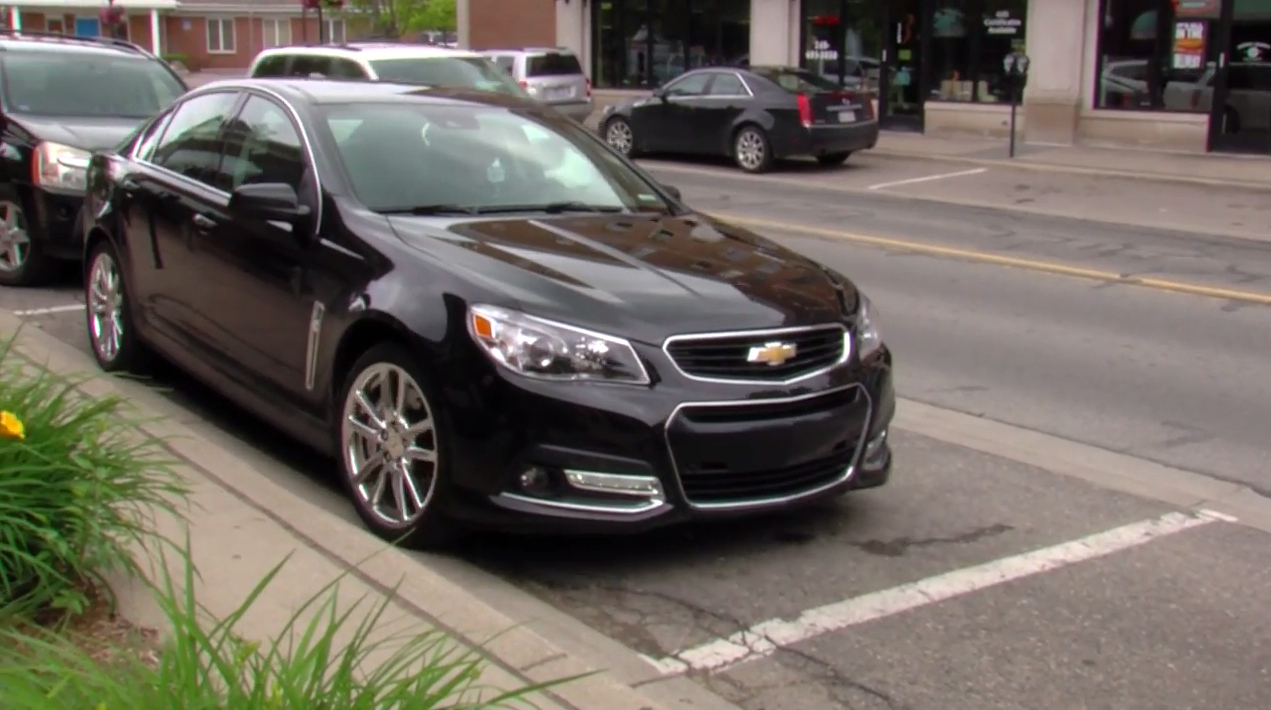 2015 Chevrolet SS Gets Automatic Parking Assist as Standard