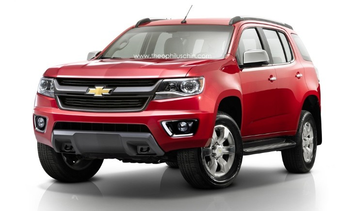 2015 Chevrolet TrailBlazer Rendered
