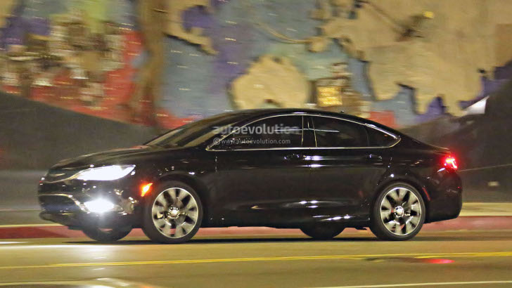 2015 Chrysler 200 Sedan Spy Photos Completely Reveal New ...