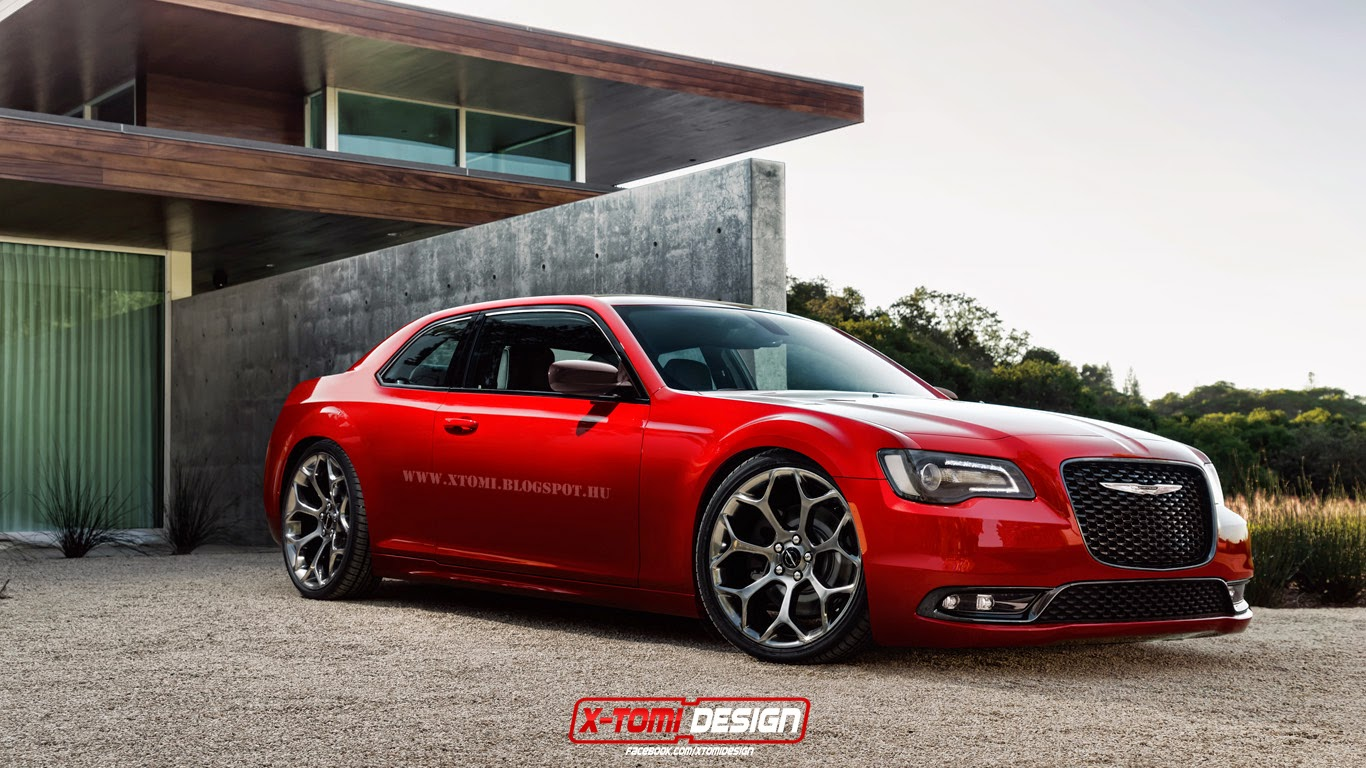 2015 Chrysler 300 Coupe Is A Nice Pipe Dream Autoevolution