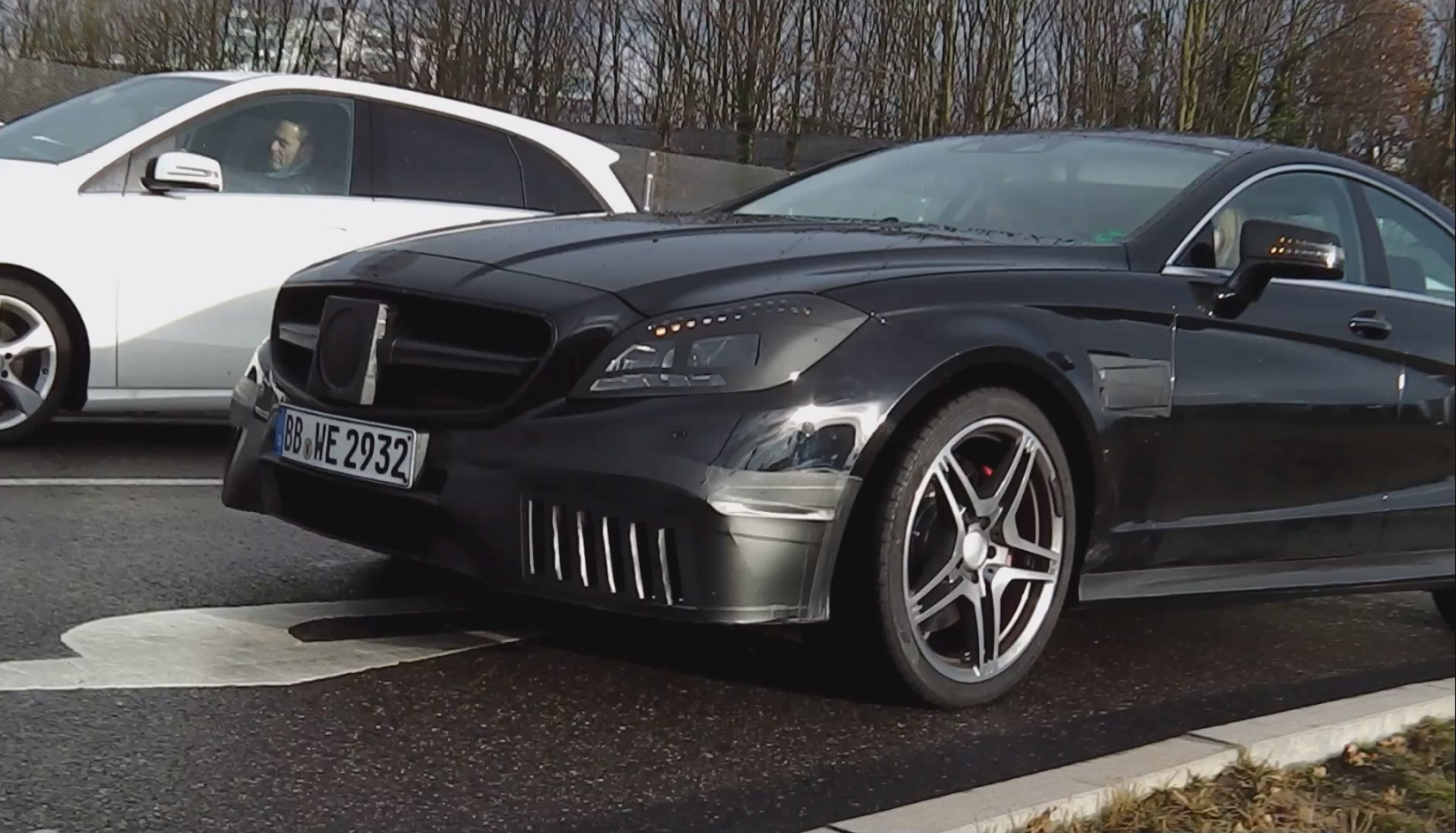 2015 Cls 63 Amg Facelift Caught On Video In Germany