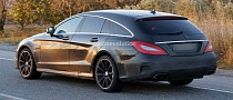 2015 CLS 63 AMG S-Model Shooting Brake X218 [Photo Gallery]