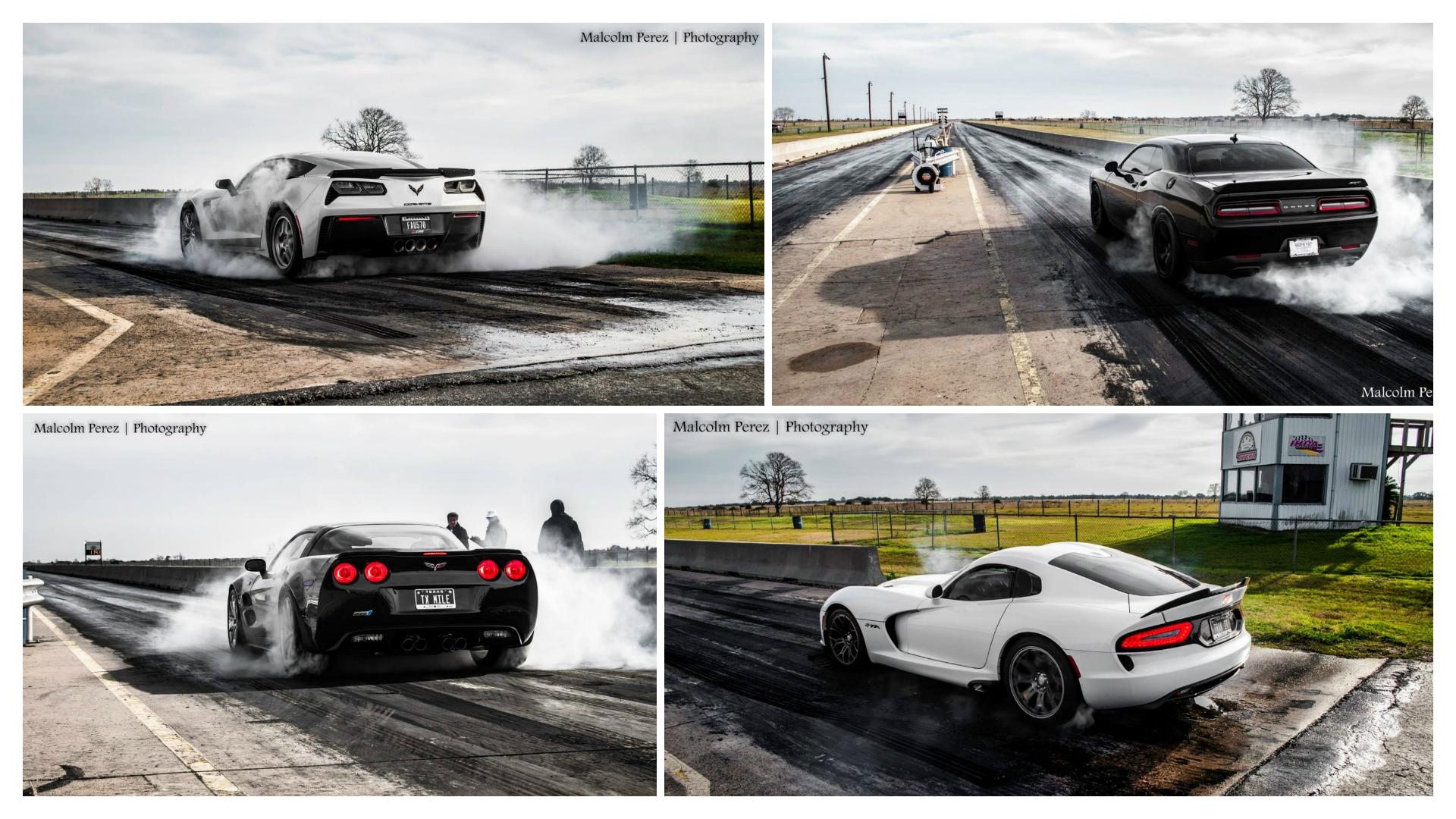 Hellcat Challenger and Corvette Z06