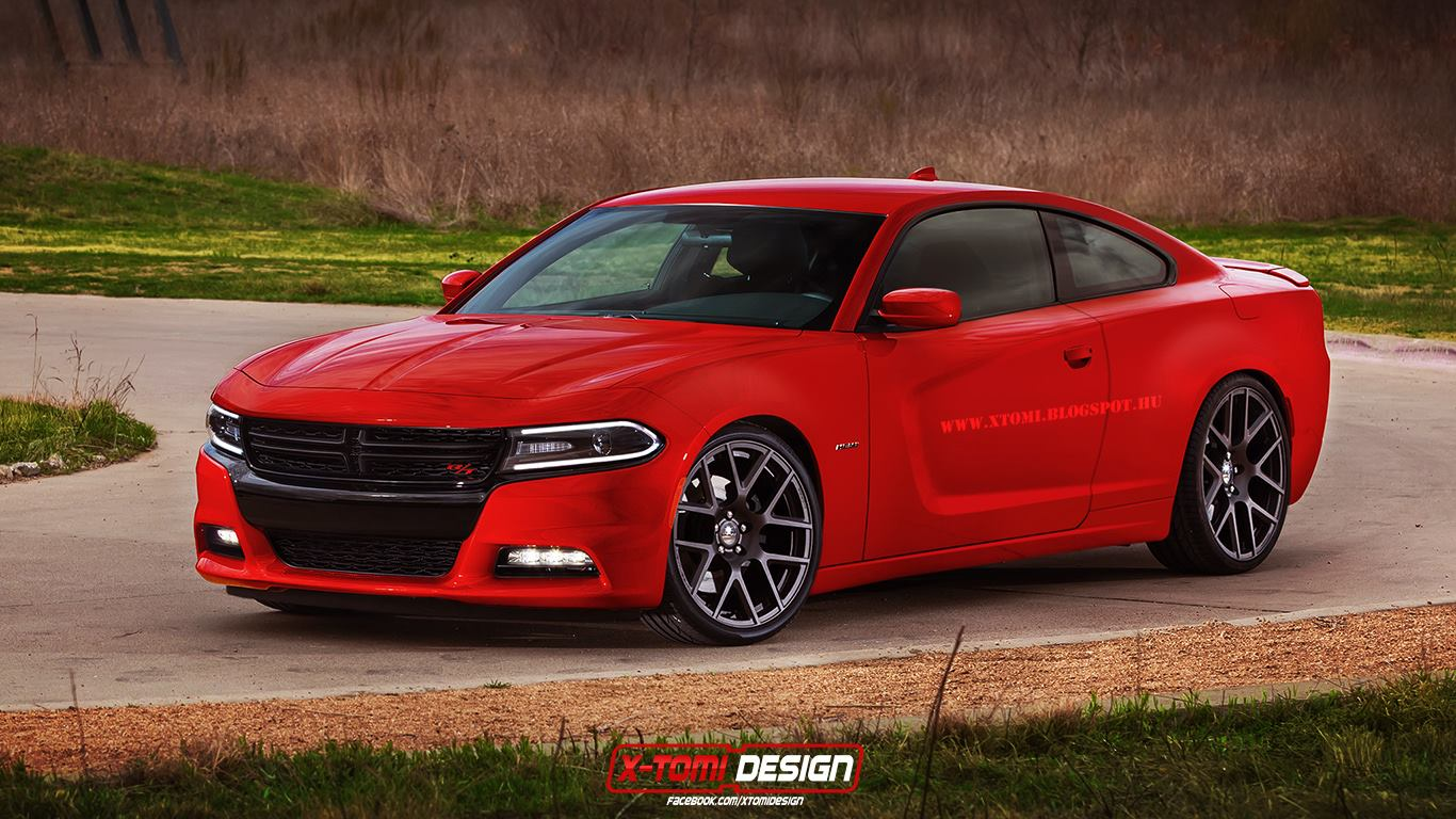 2015 dodge charger r t coupe rendering is your worst muscle car nightmare autoevolution. Black Bedroom Furniture Sets. Home Design Ideas