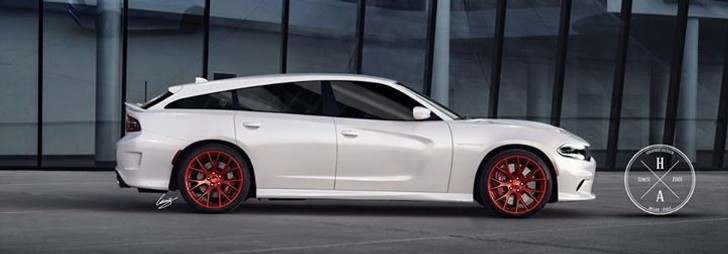 2015 Dodge Challenger Srt Hellcat >> 2015 Dodge Charger SRT Hellcat Shooting Brake Rendered into Reality - autoevolution