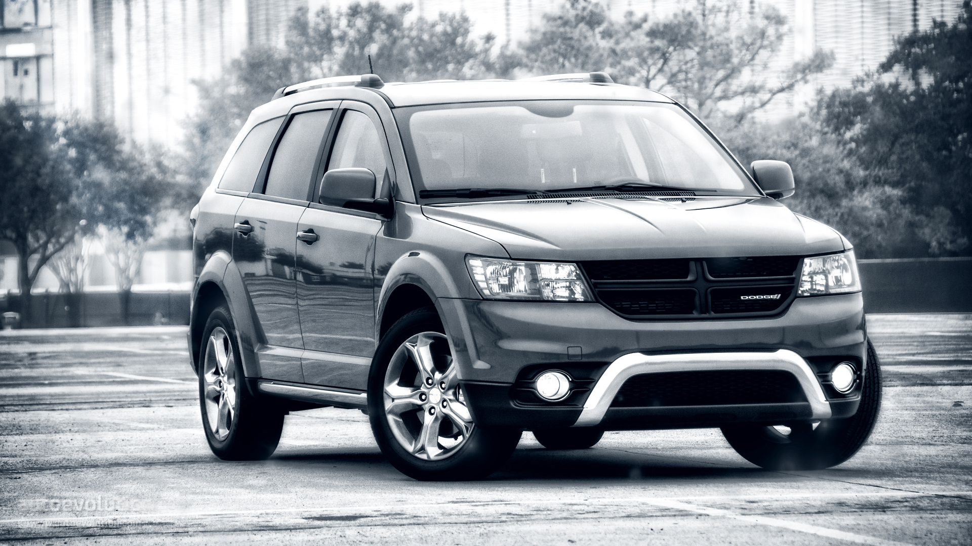 2015 dodge journey crossroad hd wallpapers the budget family man autoevolution. Black Bedroom Furniture Sets. Home Design Ideas
