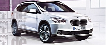 2015 F48 BMW X1 and 2016 F47 X2 Lifestyle Crossover Renderigs
