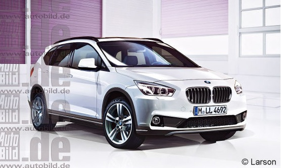 2015 f48 bmw x1 and 2016 f47 x2 lifestyle crossover renderigs autoevolution. Black Bedroom Furniture Sets. Home Design Ideas