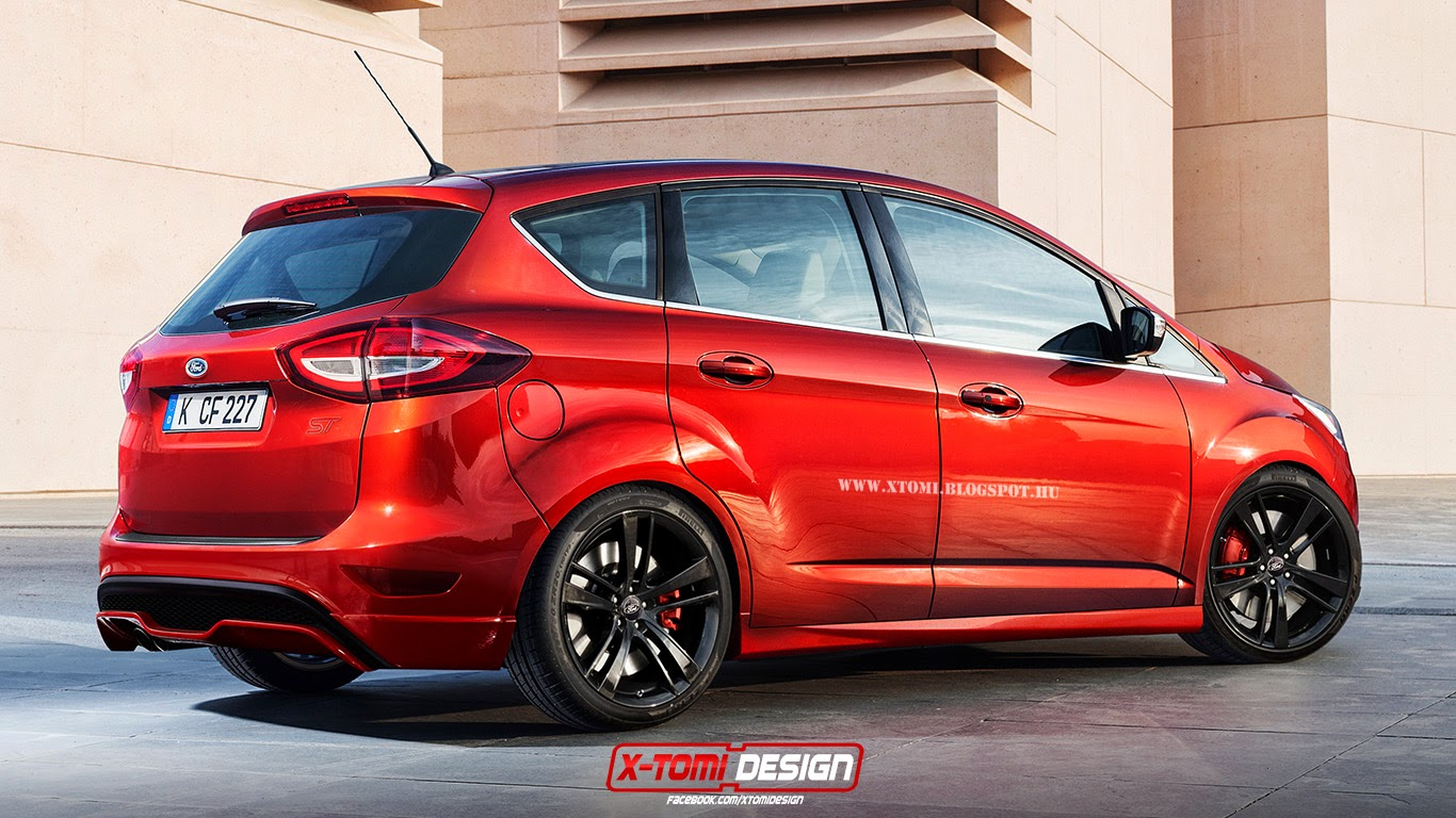 2015 ford c max st rendered makes sense as a performance diesel autoevolution. Black Bedroom Furniture Sets. Home Design Ideas
