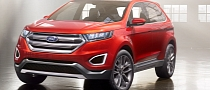 2015 Ford Edge Concept Unveiled [Photo Gallery]