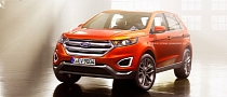 2015 Ford Edge Production Version Rendered