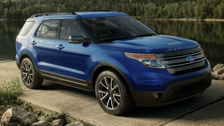 2015 Ford Explorer Gets Sporty Appearance Package ...