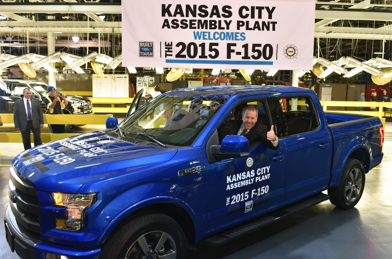 Ford Kansas City >> 2015 Ford F 150 Now Made At The Kansas City Assembly Plant As Well
