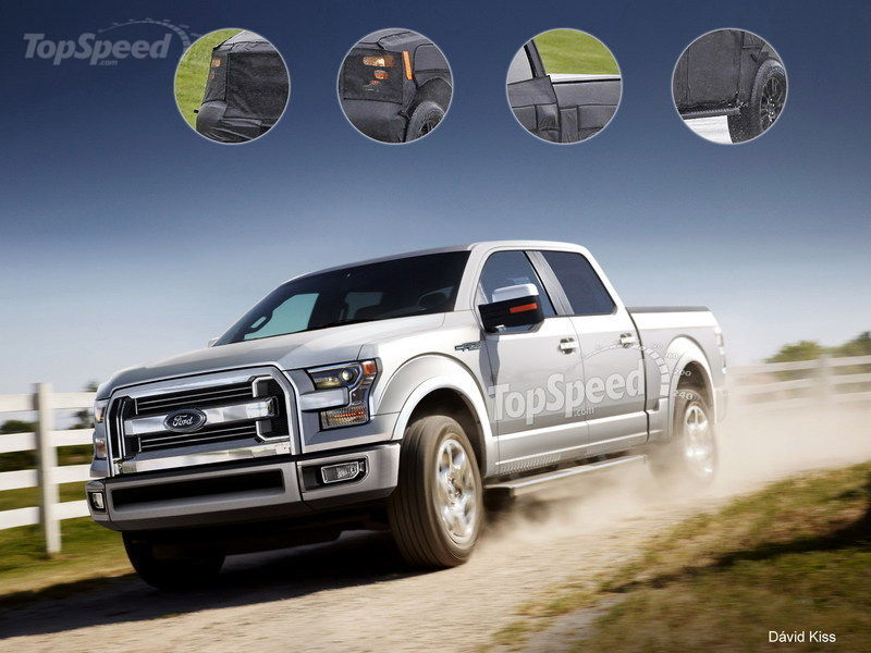 2015 ford f 150 rendered autoevolution