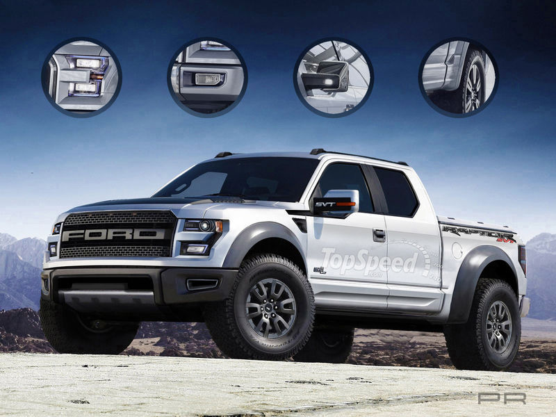 2015 ford f 150 svt raptor rendered autoevolution. Black Bedroom Furniture Sets. Home Design Ideas
