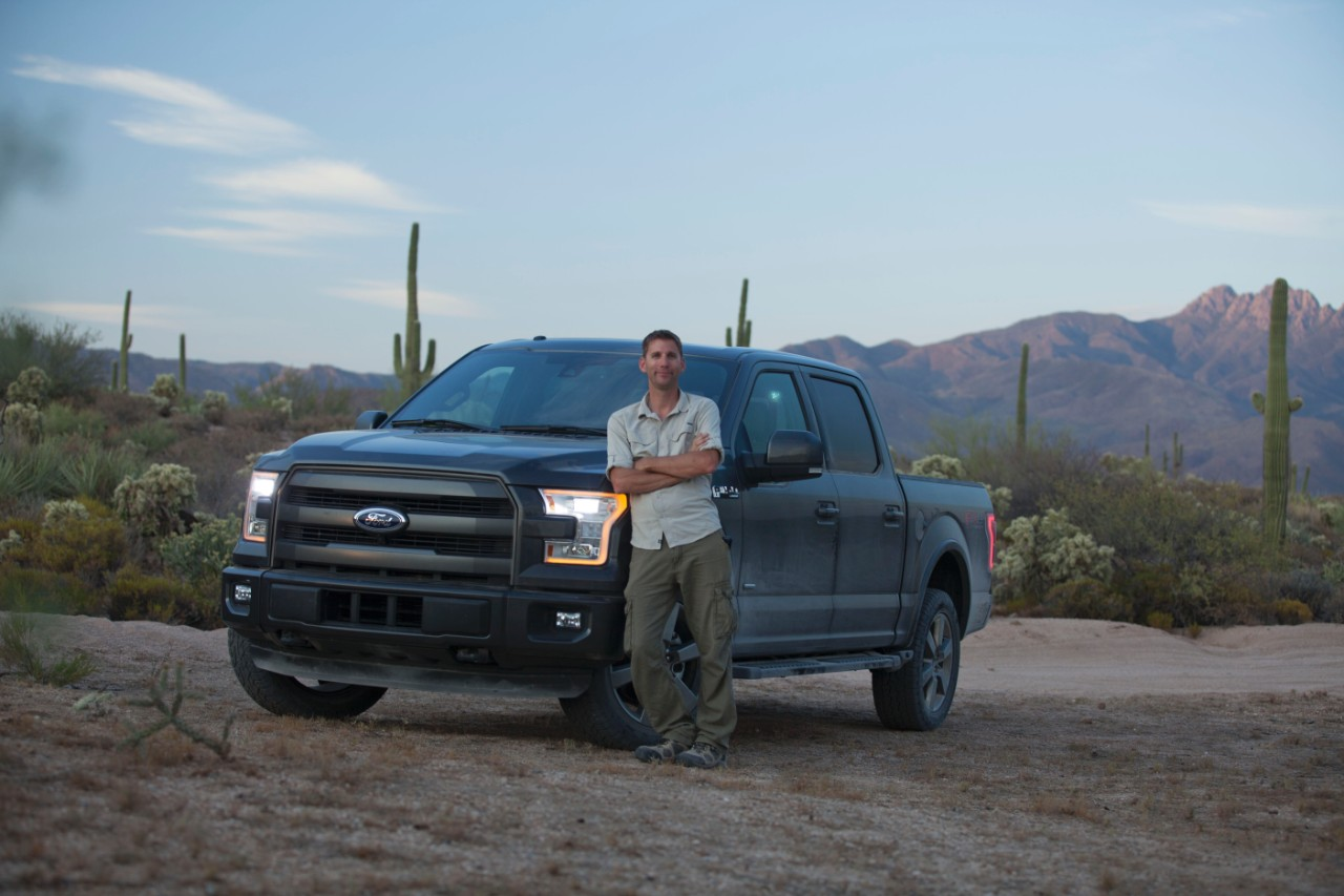 2015 ford f 150 test driven by customer in the desert autoevolution. Black Bedroom Furniture Sets. Home Design Ideas