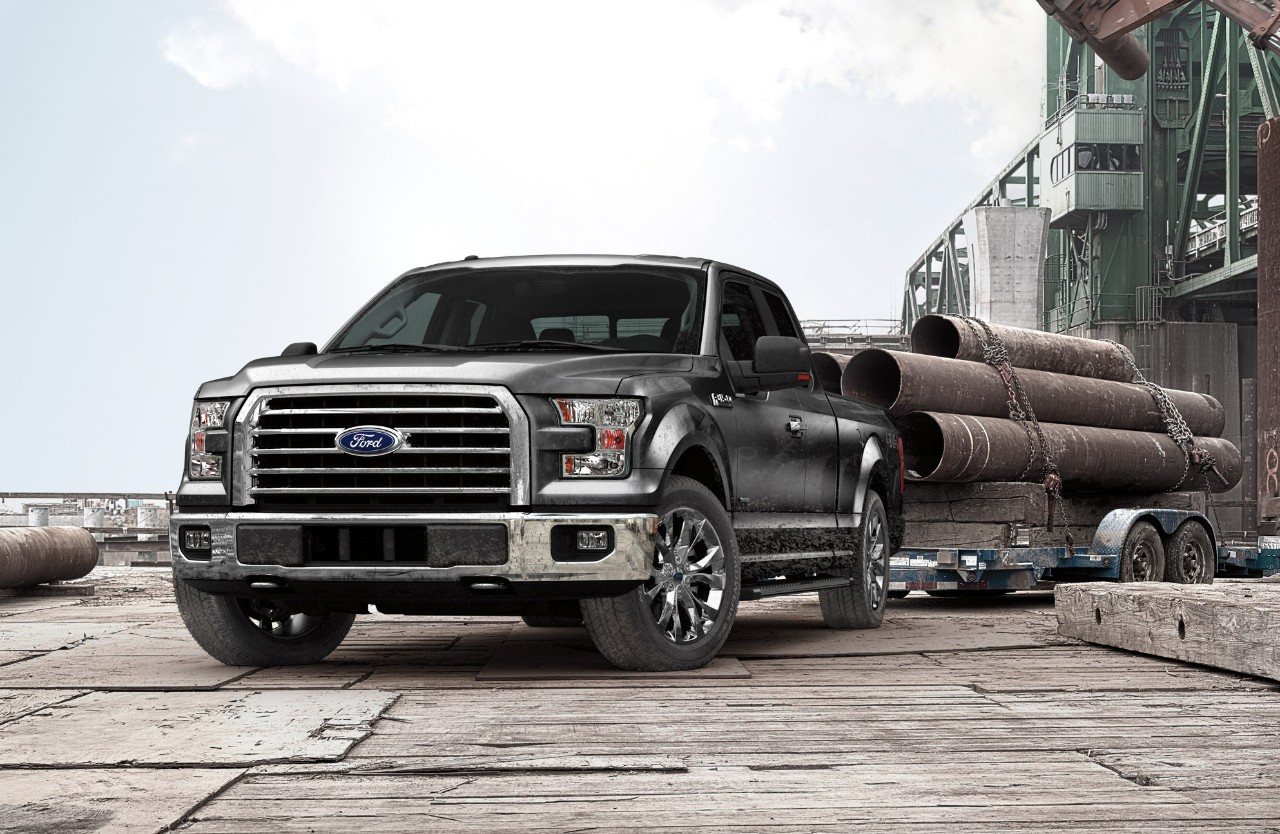2015 Ford F-150 Tow Ratings Announced - autoevolution