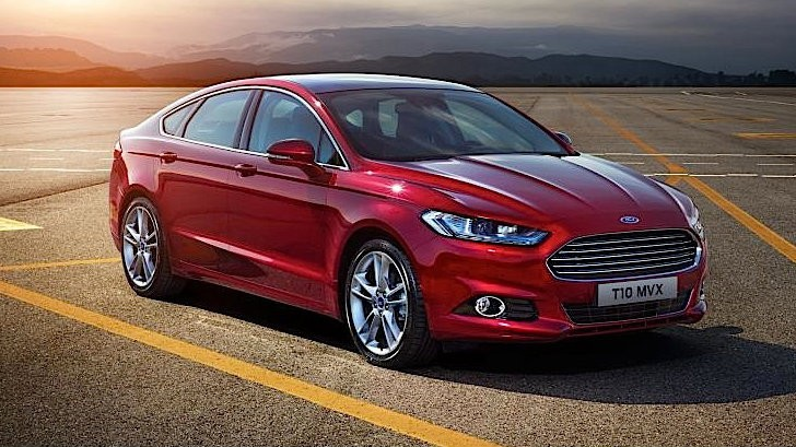 2015 Ford Mondeo Is Laden with Goodies [Photo Gallery]