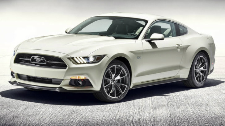 2015 Ford Mustang 50th Anniversary Edition Heading To New