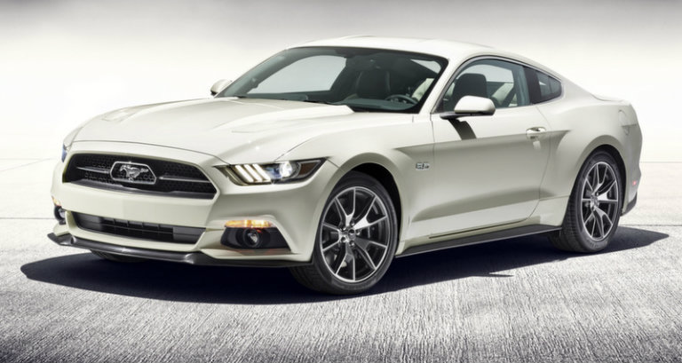 2015 Ford Mustang 50th Anniversary Edition Heading to New York Auto ...