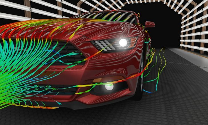 2015 Ford Mustang Aerodynamics Explained - autoevolution