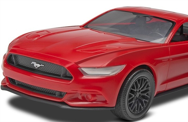 2015 Ford Mustang Already Available as Toy Kit Model [Video]