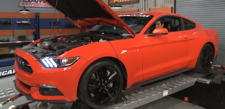 2015 Ford Mustang EcoBoost Tuned by Bama Performance Shows