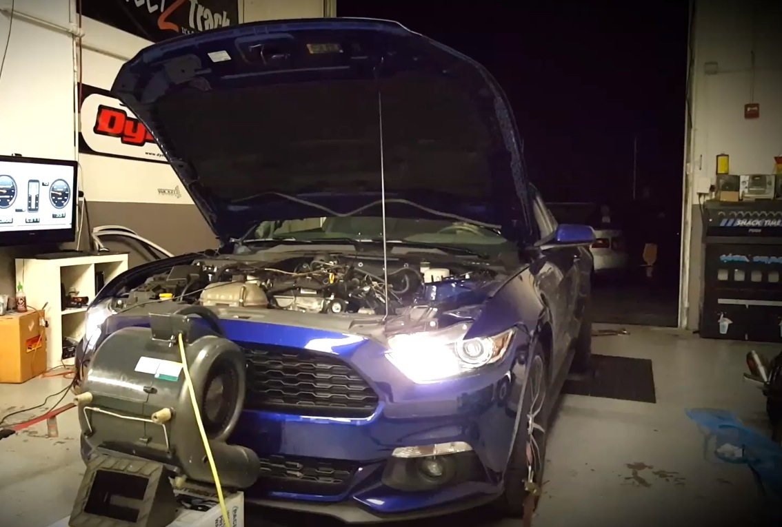 500 Hp Plus 2015 Ford Mustang Ecoboost Sets Dyno World Record