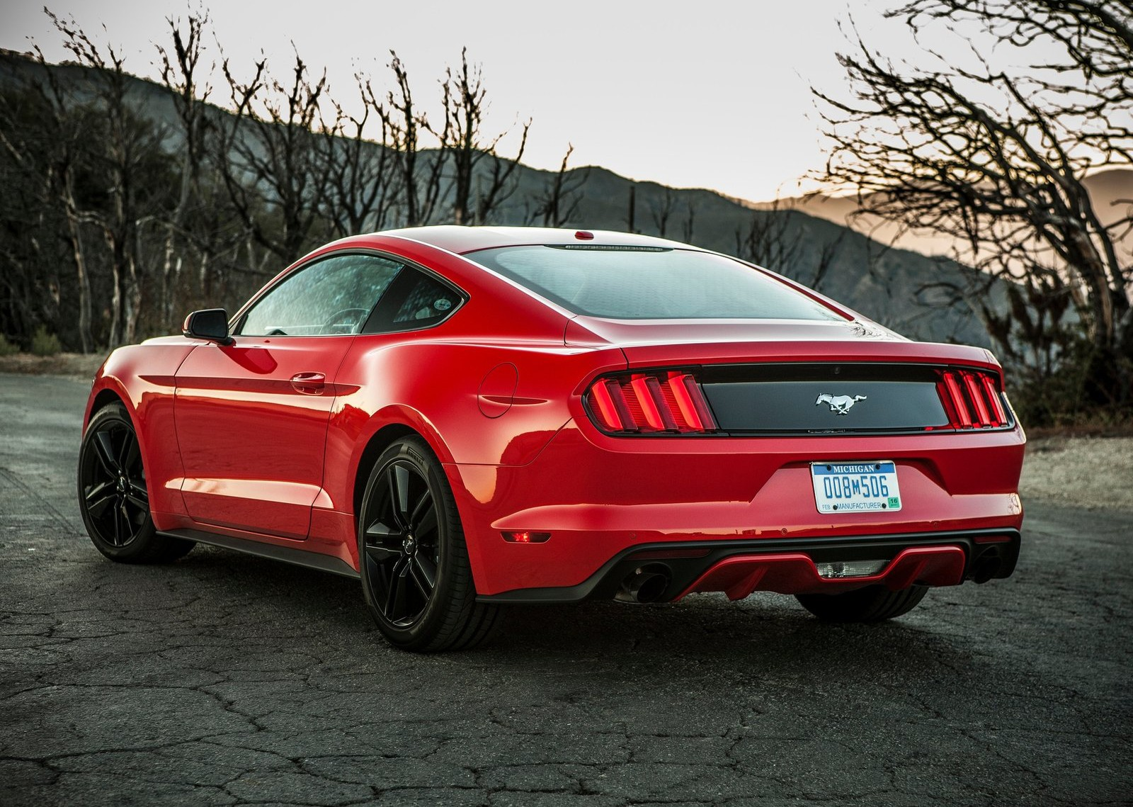 2015 ford mustang euro spec model loses some power over its american brother