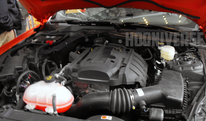 2015 Ford Mustang: First Glimpse of the 2.3-liter EcoBoost Engine