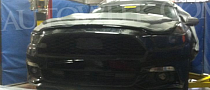 2015 Ford Mustang Front End Revealed by Spyshots