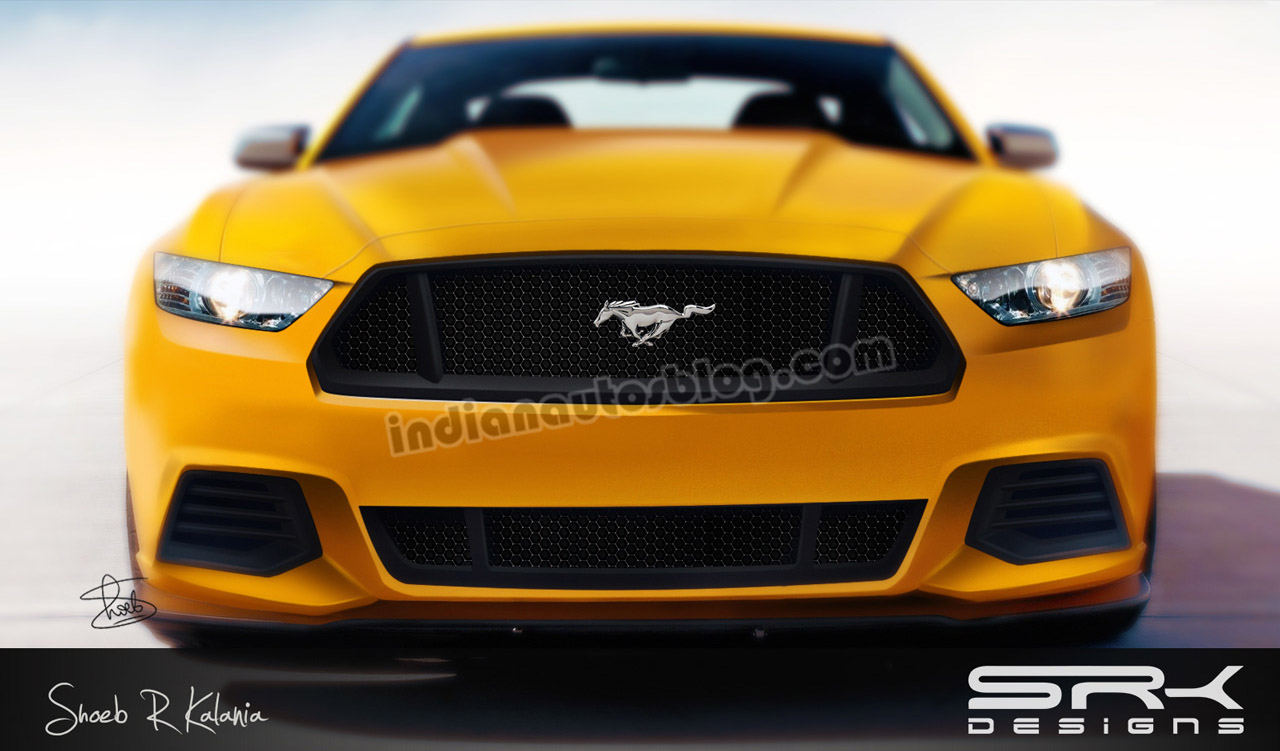 2015 Ford Mustang Gets New Rendering Autoevolution