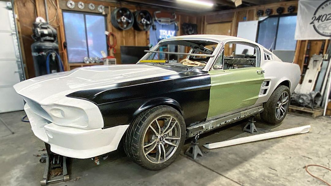 2015 Ford Mustang Gt Gets 1967 Eleanor Body Conversion Looks