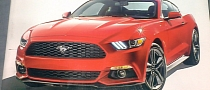 2015 Ford Mustang Leaks Ahead of Global Debut [Photo Gallery]