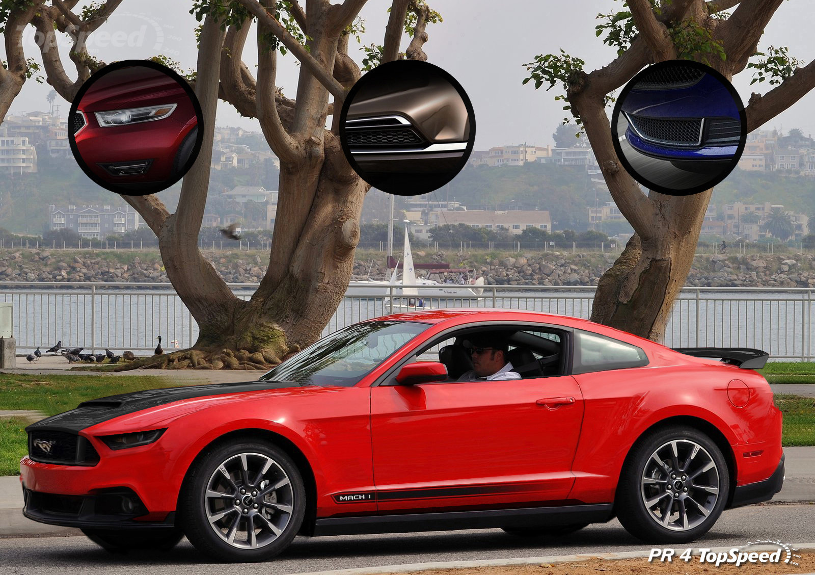 2015 ford mustang mach 1 rendering autoevolution. Black Bedroom Furniture Sets. Home Design Ideas