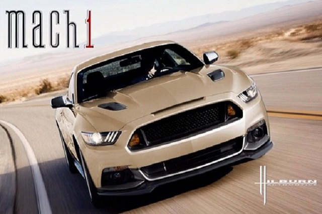 2015 Mustang Mach 1 >> 2015 Ford Mustang New Mach 1 Rendering Autoevolution