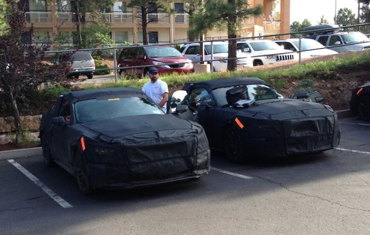 2015 Ford Mustang Prototypes Spotted in Arizona [Photo Gallery]