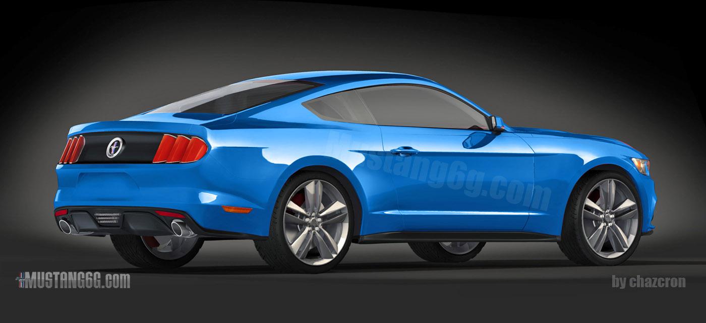 Ford Mustang Renderings